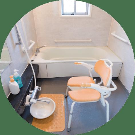 縁寿の園 浴室