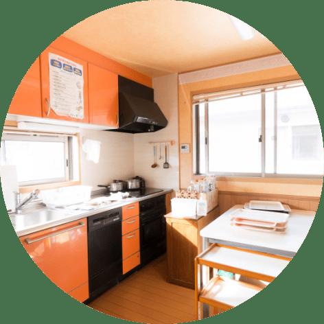 縁寿の園 キッチン