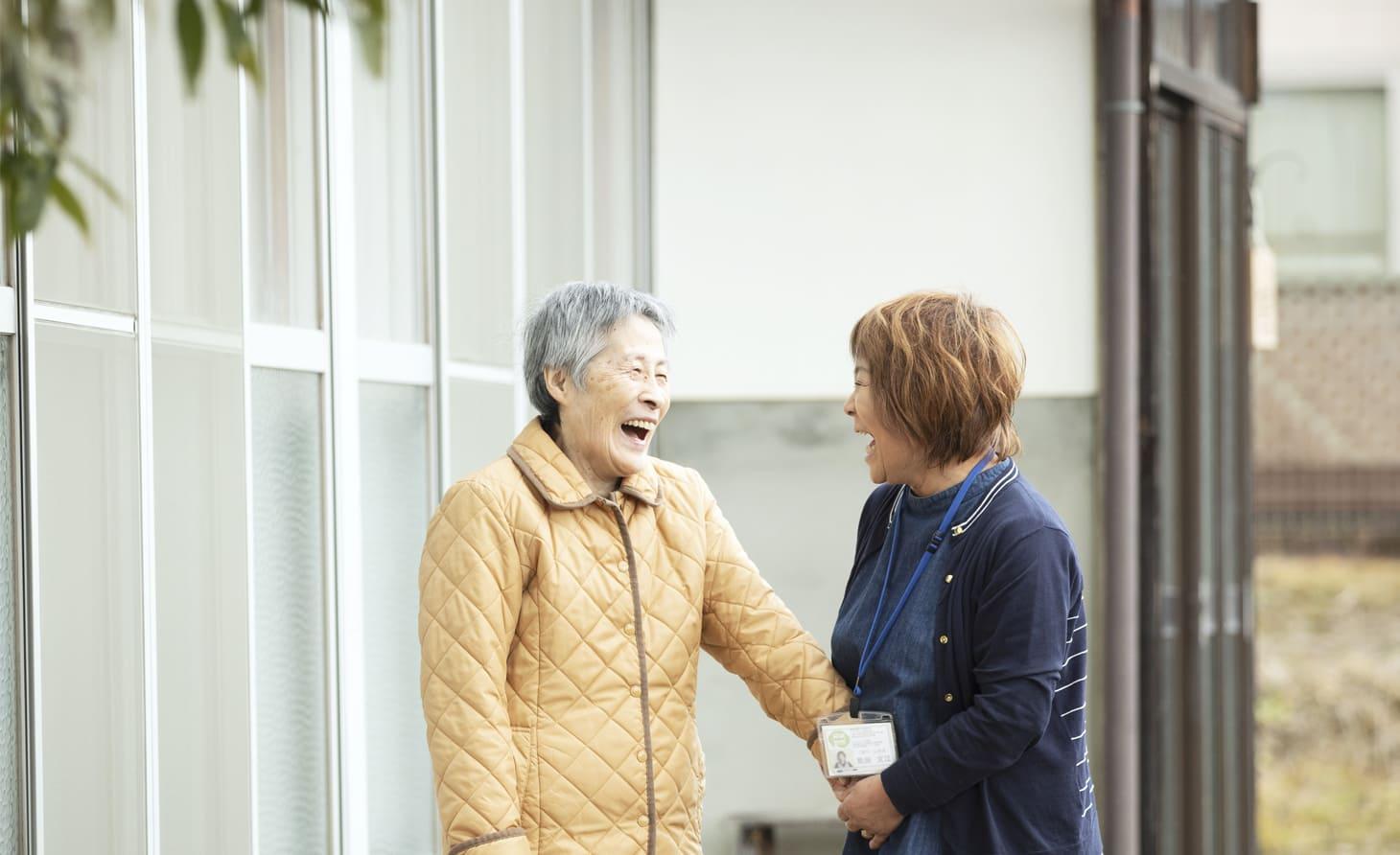 繋ケアステーション 定期巡回・随時対応型訪問介護看護のイメージ